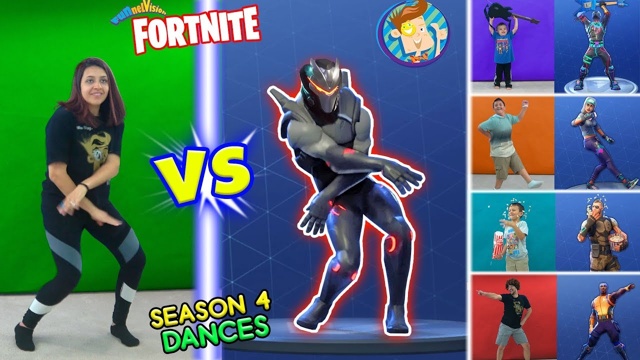 Fortnite Dance Challenge In Real Life 2 Season 4 Dances Hype