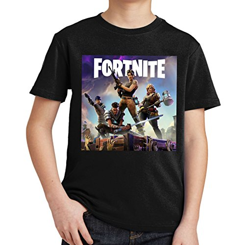 ae850292 fresh tees Fortnite Heroes Fortnite Gamers Youth T- Shirt (Medium 6/8 yrs