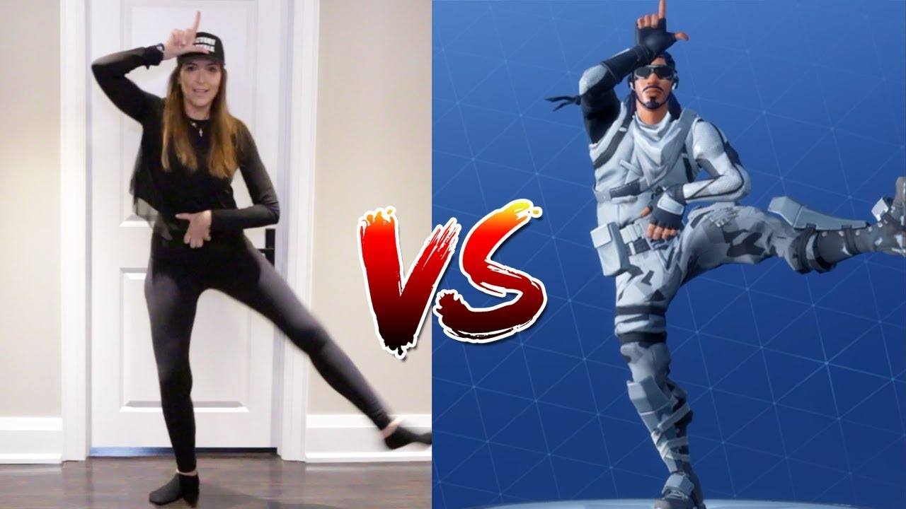 FORTNITE DANCE CHALLENGE WITH MAMA! - (In Real Life) - Fortnite FYI