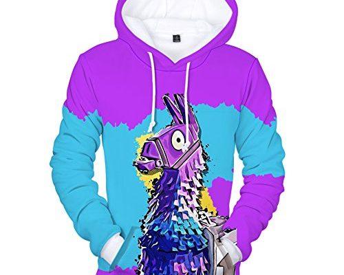 New Unisex 3D Printed Fortnite Men Casual Fleece Hoodie Sweatshirts