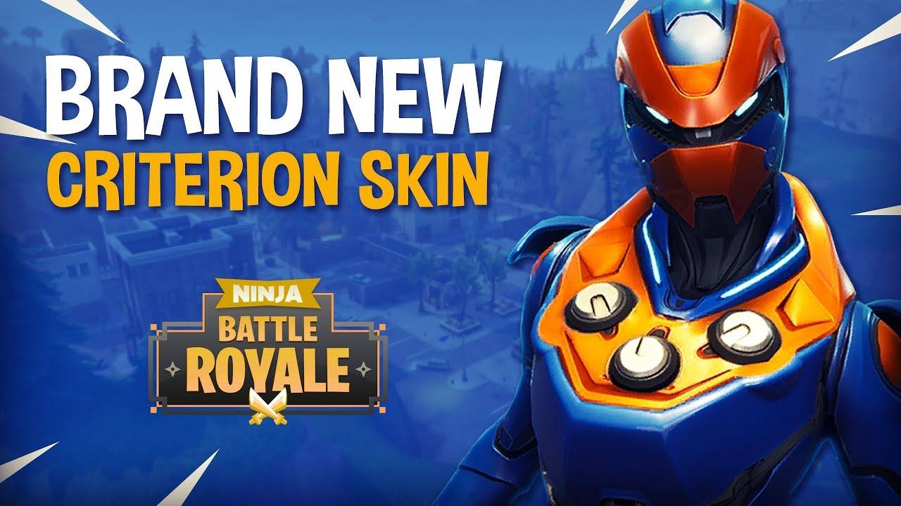 Brand New Criterion Skin Fortnite Battle Royale