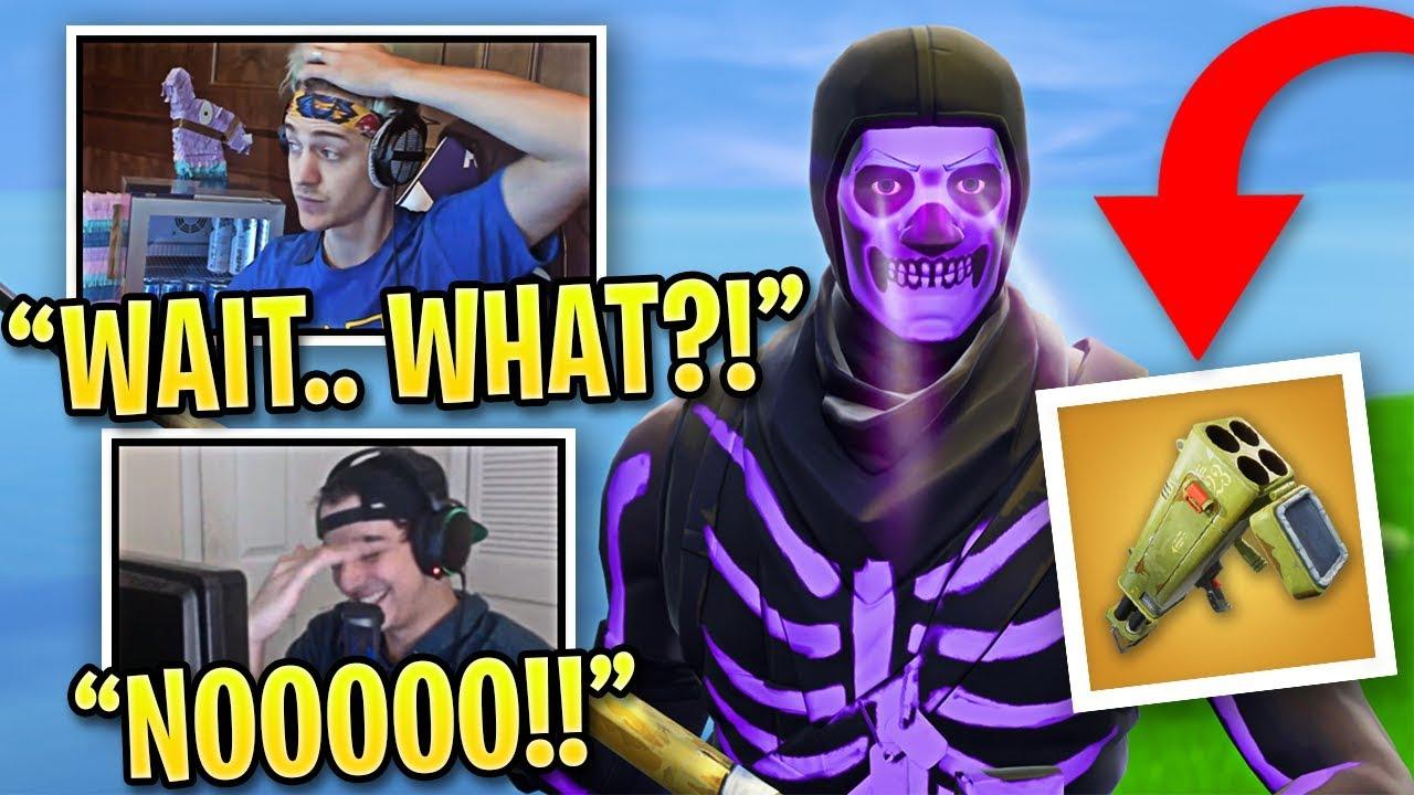 fortnite streamers shocked purple skull trooper is back - when is skull trooper coming back to fortnite