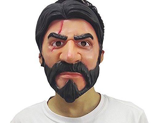 John Wick Reaper Replica Skin Mask Halloween Cosplay Fortnite Fyi