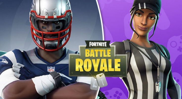 Fortnite NFL skins shop UPDATE: Release date, price, time for NEW Epic Games outfits