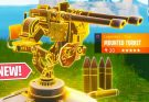 """NEW """"MOUNTED TURRET"""" Gameplay // Pro Console Player // 1350+ Wins (Fortnite Battle Royale LIVE PS4)"""
