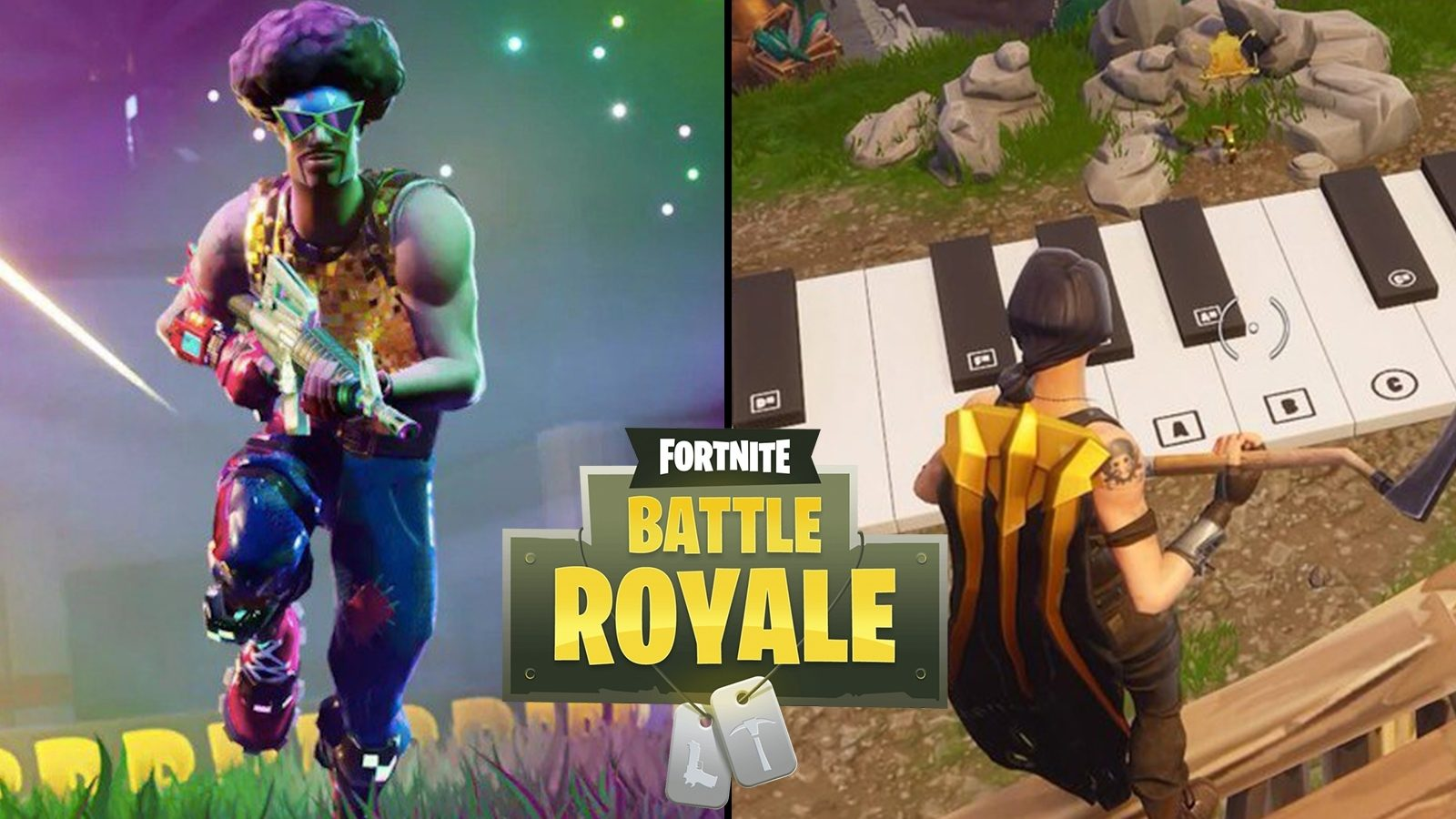 161af92da Two massive playable pianos have been added to Fortnite Battle Royale