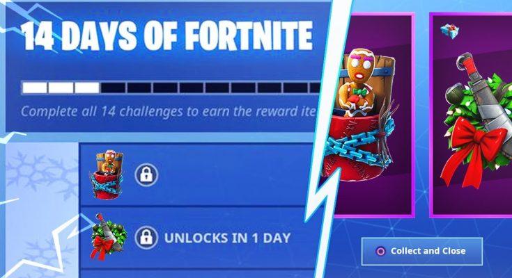14 DAYS OF FORTNITE EVENT CHALLENGES - New Free Fortnite Christmas Rewards! (Fortnite Battle Royale)