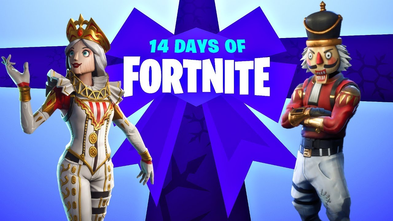 14 Days Of Fortnite Day 2 Countdown New Nutcracker Set Fortnite