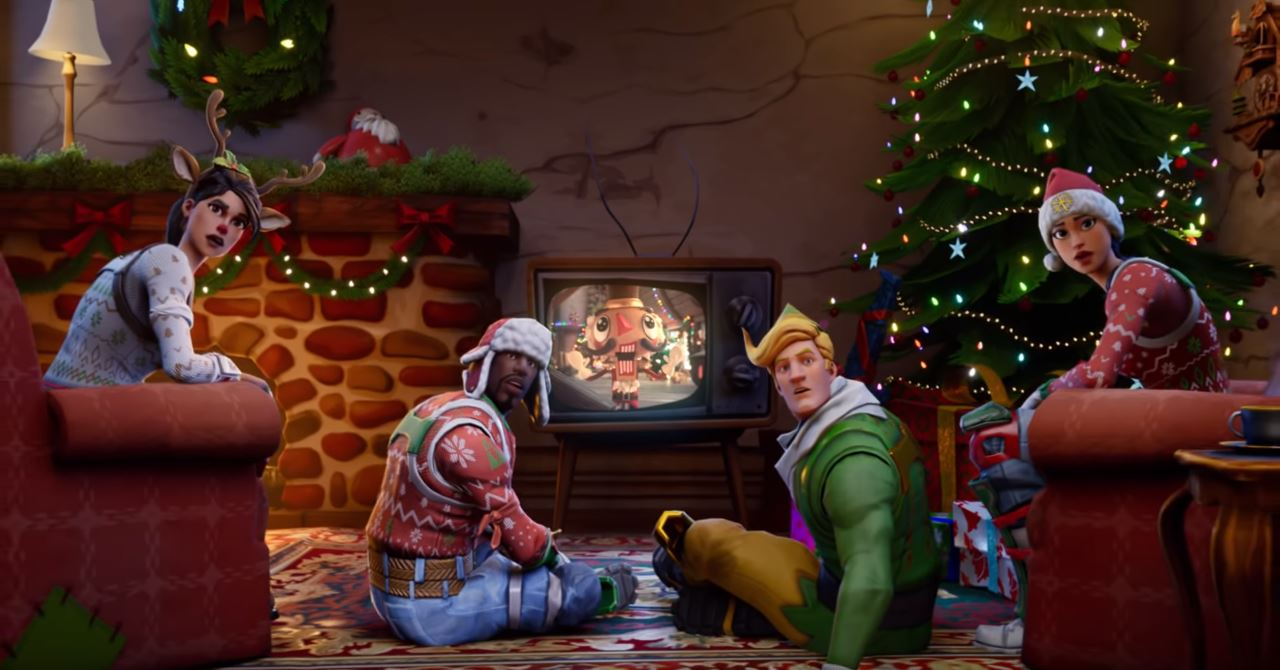 Christmas Skins.Christmas Themed Fortnite Skins May Return With Unlockable