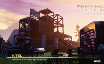 Famous Call of Duty: MW2 map reimagined in Fortnite as 'Risky Rust' looks incredible