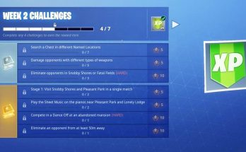 NEW FORTNITE UPDATE! FORTNITE WEEK 2 CHALLENGES GUIDE! (FORTNITE BATTLE ROYALE)