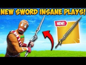 *NEW* LEGENDARY SWORD IS INSANE! - Fortnite Funny Fails and WTF Moments! #408