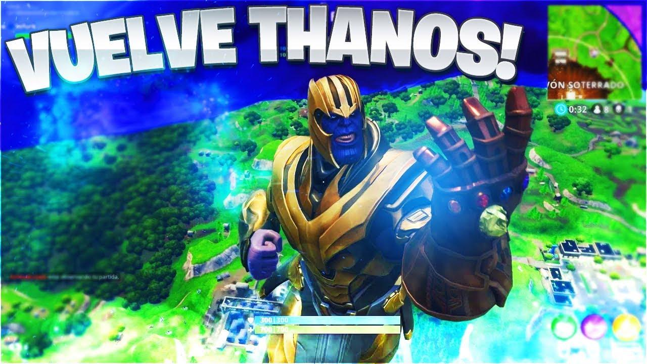 Nuevo Modo De Juego Thanos Vuelve A Fortnite Battle Royale