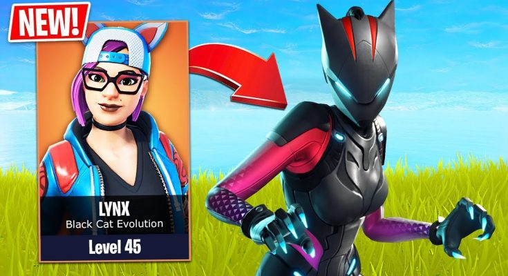 SEASON 7 *NEW* LYNX STAGE 3 EVOLUTION!! (Fortnite Live Gameplay)