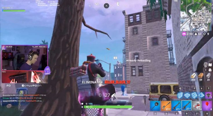 Dr. Lupo goes on killing spree in Fortnite One-Shot LTM