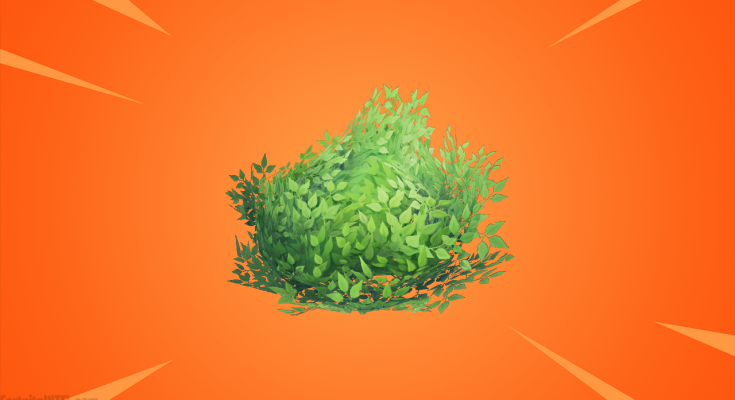 Epic Games says improvements to Fortnite's Bush item are coming soon
