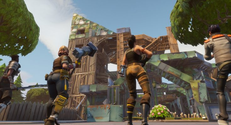 Major update to wall placement announced by Epic Games in Fortnite