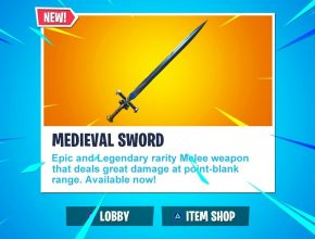 "NEW ""MEDIEVAL SWORD"" Update! // Pro Console Player // 1600+ Wins (Fortnite Battle Royale LIVE)"