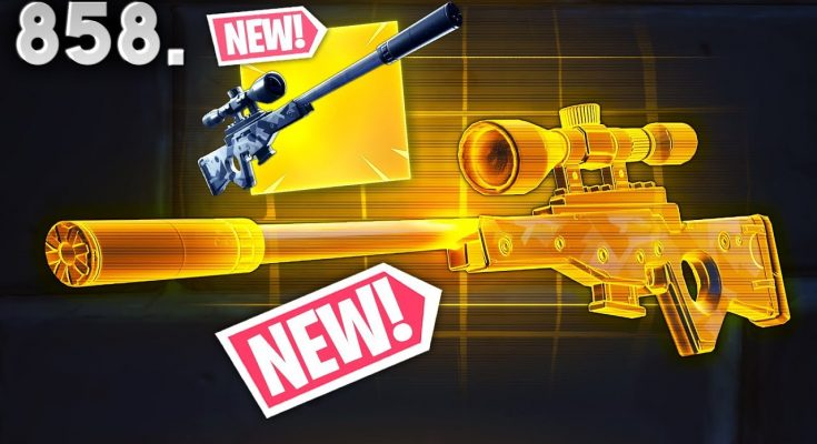 *NEW* SNIPER IS REALLY BROKEN!! - Fortnite Funny WTF Fails and Daily Best Moments Ep.858