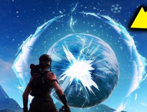 THE SPHERE IS CRACKING RIGHT NOW! SEASON 7  SNOW STORM EVENT! (FORTNITE BATTLE ROYALE)