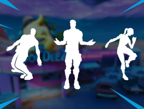 Video of all 4 unreleased Fortnite Emotes from patch v7.20