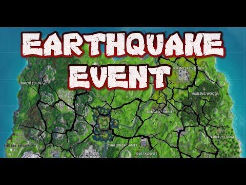 Fortnite Earthquake Cracking Map Live Fire King Has Returned