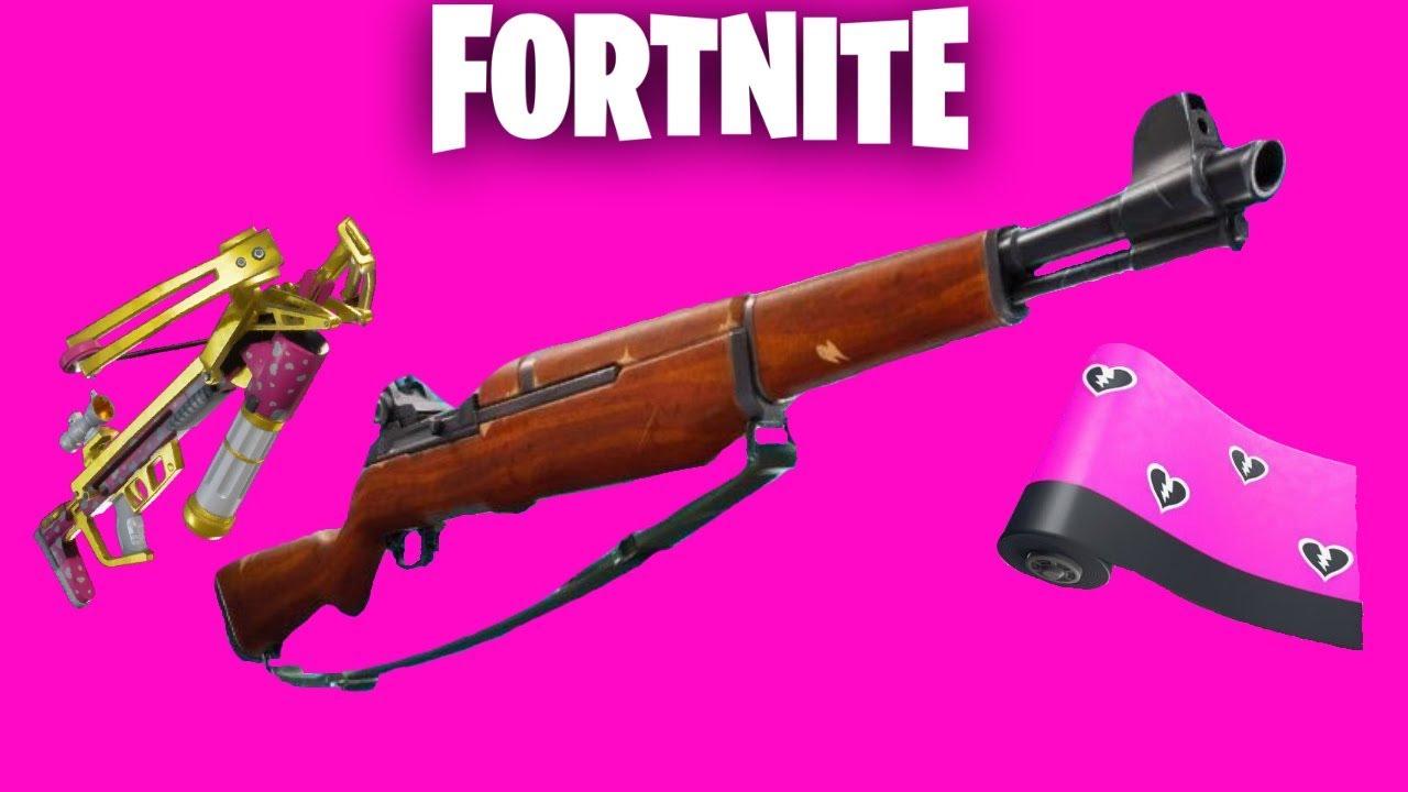 fortnite new infantry rifle share the love update countdown gameplay fortnite new - new gun in fortnite infantry rifle