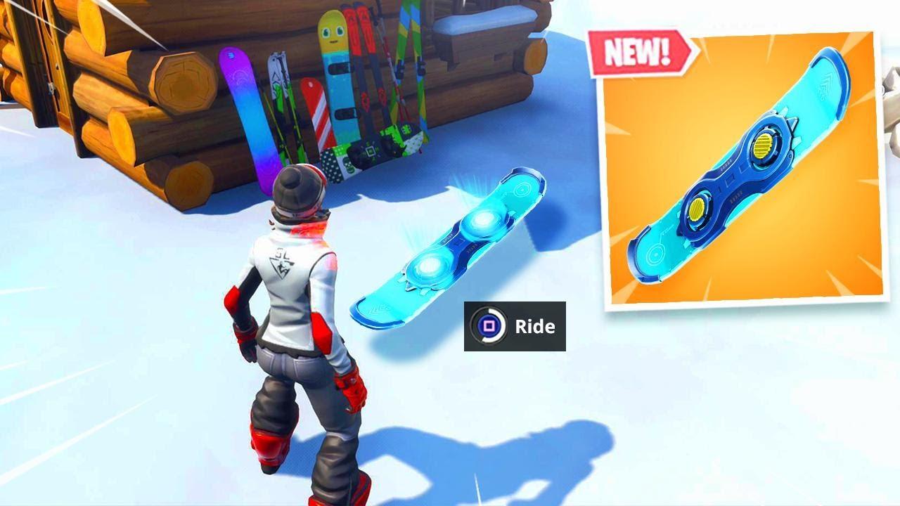 new fortnite driftboard is amazing - fortnite driftboard