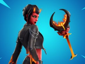 Malice Skin and Burning Axe land in Fortnite Item Shop