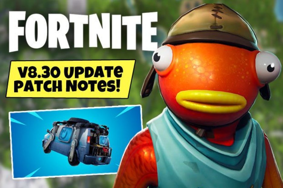Fortnite Update 8 30 Patch Notes TODAY: Reboot Van, Server Downtime