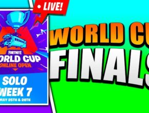🔴 Finals of the Solo World Cup Qualifiers! (Fortnite)