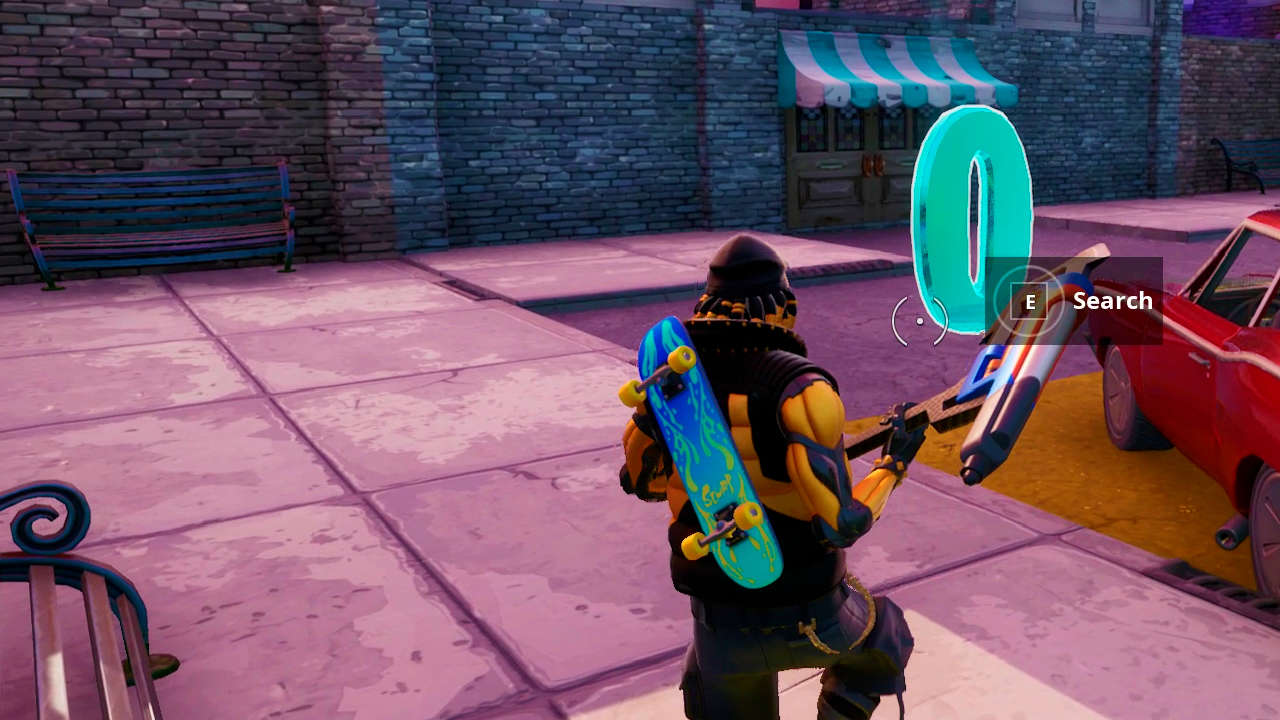 Where Are The Fortnite Letters Pc Fortnite Where To Search O N F I R E Letters In Downtown Drop Ltm Fortnite Fyi